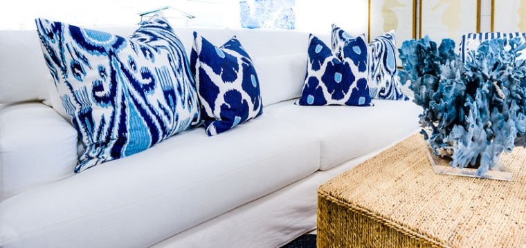 coastal white living room furniture
