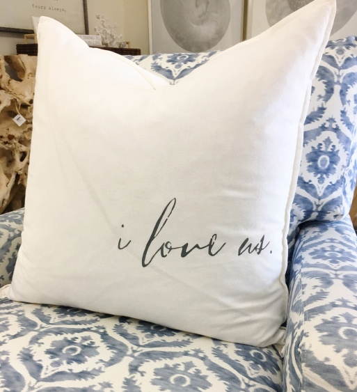 Such A Sweet Addition To A Newlywed S Home These Flour Sack Pillows With Down Inserts Are Sure To Delight Perfect On The Bed Sofa Or A Chair